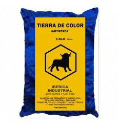 Tierra Color Azul Bolsa 1kg