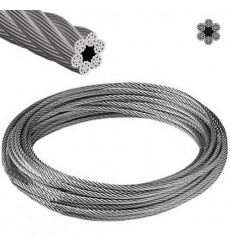 "Cable Acero Tipo Tonina 1/2"""