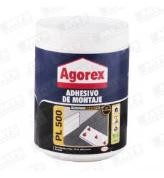 Adhesivo Montaje Agorex Pl 500 800 Gr
