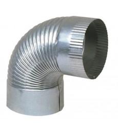 """Codo Ventilacion Galvanizado 6x90gr"""""""