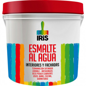 Esmalte Agua Iris Blanco 1 Gl