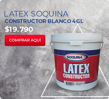 LATEX SOQUINA CONSTRUCTOR BLANCO 4 GL